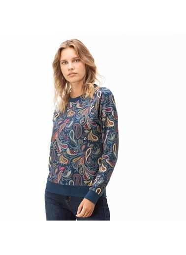 Lacoste Kadın  Sweatshirt SF2044.44L Lacivert